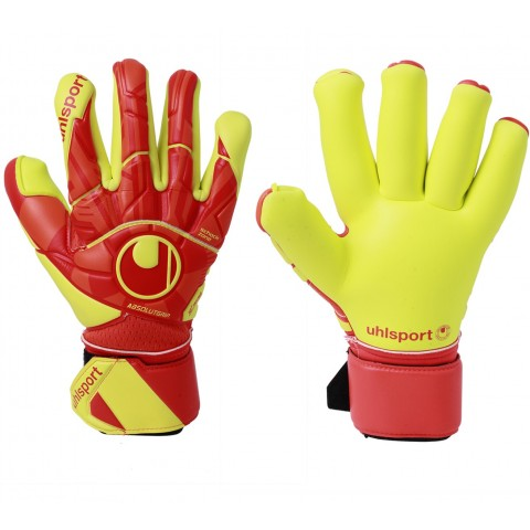 Luva de Goleiro Profissional Uhlsport Dynamic Impulse Absolutgrip Finger Surround