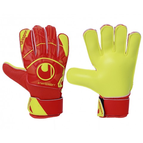 Luva de Goleiro Uhlsport Infantil Dynamic Impulse Startersoft